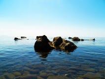 θάλασσα βράχων Στοκ Εικόνες