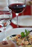 θάλασσα γεύματος τροφίμ&omeg Στοκ εικόνα με δικαίωμα ελεύθερης χρήσης