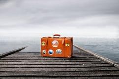 θάλασσα για να ταξιδεψε Στοκ εικόνα με δικαίωμα ελεύθερης χρήσης