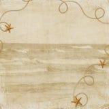 θάλασσα διακοπών καρτών Στοκ φωτογραφία με δικαίωμα ελεύθερης χρήσης