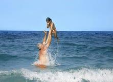 θάλασσα διασκέδασης Στοκ φωτογραφία με δικαίωμα ελεύθερης χρήσης