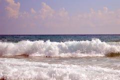 """Θάλασσα δ υπόστεγων """"azur στοκ φωτογραφία με δικαίωμα ελεύθερης χρήσης"""