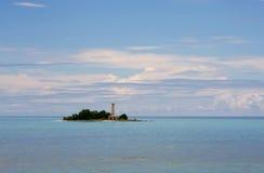 θάλασσα εδάφους σύννεφων Στοκ Φωτογραφία