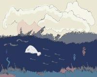 θάλασσα ζωής υποβρύχια απεικόνιση αποθεμάτων