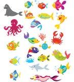 θάλασσα ζωής διανυσματική απεικόνιση