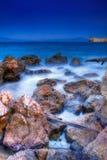 θάλασσα θυελλώδης Στοκ Εικόνες