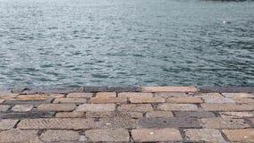 Θάλασσα Ιταλία αποβαθρών απόθεμα βίντεο