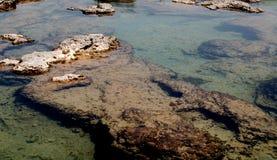θάλασσα κάτω Στοκ Εικόνες