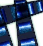 Θάλασσα και ταινία 5 απεικόνιση αποθεμάτων
