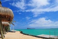 θάλασσα καλυβών στοκ φωτογραφίες με δικαίωμα ελεύθερης χρήσης