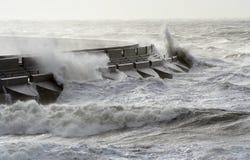 θάλασσα κυματοθραυστών Στοκ φωτογραφία με δικαίωμα ελεύθερης χρήσης