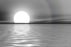 θάλασσα λευκόχρυσου Στοκ Εικόνα