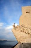 θάλασσα μνημείων της Λισσαβώνας ανακαλύψεων Στοκ εικόνες με δικαίωμα ελεύθερης χρήσης