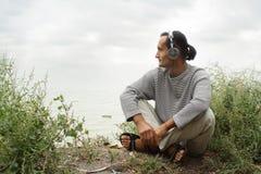θάλασσα μουσικής Στοκ Εικόνες