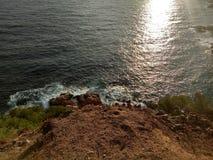 Θάλασσα νερού Στοκ φωτογραφίες με δικαίωμα ελεύθερης χρήσης