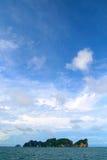 θάλασσα νησιών Στοκ φωτογραφία με δικαίωμα ελεύθερης χρήσης