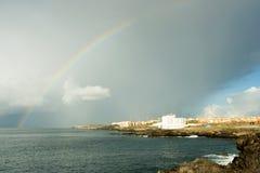 θάλασσα ξενοδοχείων Στοκ Φωτογραφίες