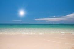 θάλασσα παραλιών Στοκ εικόνες με δικαίωμα ελεύθερης χρήσης