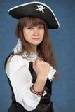 θάλασσα πειρατών κοριτσ&iot Στοκ φωτογραφίες με δικαίωμα ελεύθερης χρήσης