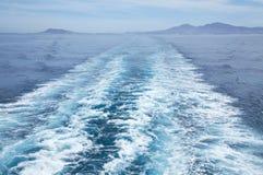 θάλασσα πορθμείων Στοκ φωτογραφία με δικαίωμα ελεύθερης χρήσης