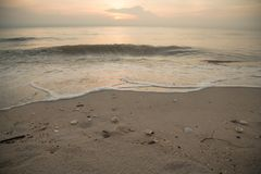 Θάλασσα πρωινού Στοκ εικόνες με δικαίωμα ελεύθερης χρήσης