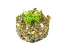 θάλασσα σαλάτας κατσαρού λάχανου Στοκ Φωτογραφία