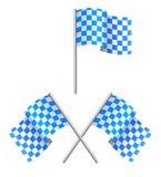 θάλασσα σημαιών συναγερ&m διανυσματική απεικόνιση