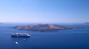θάλασσα σκαφών της γραμμή&sigm Στοκ εικόνες με δικαίωμα ελεύθερης χρήσης
