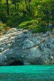 θάλασσα σπηλιών Στοκ εικόνες με δικαίωμα ελεύθερης χρήσης
