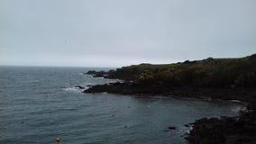 Θάλασσα στη Γαλλία Στοκ φωτογραφία με δικαίωμα ελεύθερης χρήσης