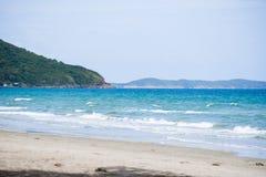 θάλασσα στο rayong, Ταϊλάνδη Στοκ φωτογραφία με δικαίωμα ελεύθερης χρήσης