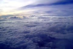 θάλασσα σύννεφων Στοκ Φωτογραφίες