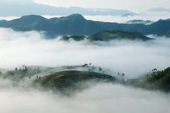 θάλασσα σύννεφων στοκ φωτογραφία με δικαίωμα ελεύθερης χρήσης
