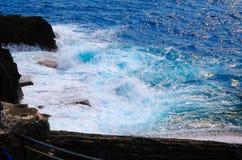 θάλασσα της Λιγυρίας Στοκ φωτογραφία με δικαίωμα ελεύθερης χρήσης