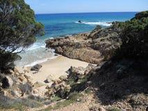 Θάλασσα της Σαρδηνίας, Κάλιαρι, Ιταλία Στοκ εικόνα με δικαίωμα ελεύθερης χρήσης