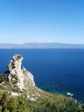 Θάλασσα της Σαρδηνίας, Κάλιαρι, Ιταλία Στοκ φωτογραφίες με δικαίωμα ελεύθερης χρήσης