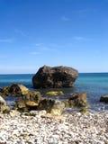 Θάλασσα της Σαρδηνίας, Κάλιαρι, Ιταλία Στοκ Εικόνα