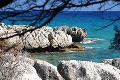 θάλασσα της Σαρδηνίας Στοκ Εικόνες