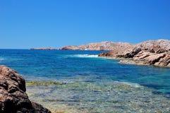 θάλασσα της Σαρδηνίας Στοκ Φωτογραφίες