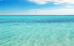θάλασσα της Σαρδηνίας Στοκ εικόνα με δικαίωμα ελεύθερης χρήσης