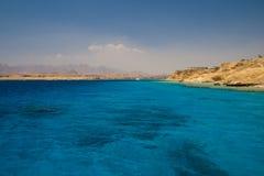 θάλασσα τοπίων της Αιγύπτ&omic Στοκ Εικόνα