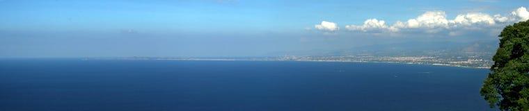 θάλασσα τοπίων Στοκ φωτογραφίες με δικαίωμα ελεύθερης χρήσης