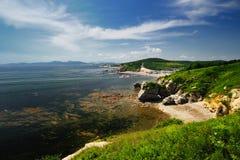 θάλασσα τοπίων Στοκ Φωτογραφία