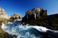 θάλασσα τοπίων στοκ εικόνες με δικαίωμα ελεύθερης χρήσης