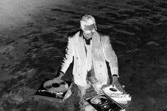 θάλασσα του DJ Στοκ Φωτογραφία