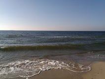 Θάλασσα το χειμώνα, η πόλη Ochakov Ουκρανία στοκ εικόνες