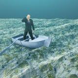 Θάλασσα των ευρώ ελεύθερη απεικόνιση δικαιώματος