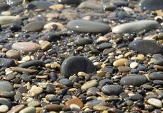 θάλασσα χαλικιών Στοκ φωτογραφία με δικαίωμα ελεύθερης χρήσης
