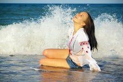 θάλασσα χαράς Στοκ Εικόνα