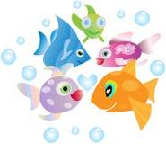 θάλασσα ψαριών Στοκ εικόνες με δικαίωμα ελεύθερης χρήσης